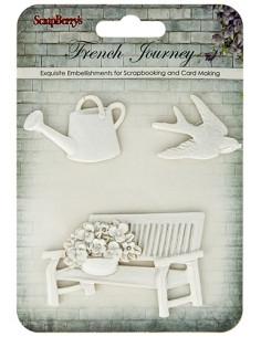 Resina French Journey banco