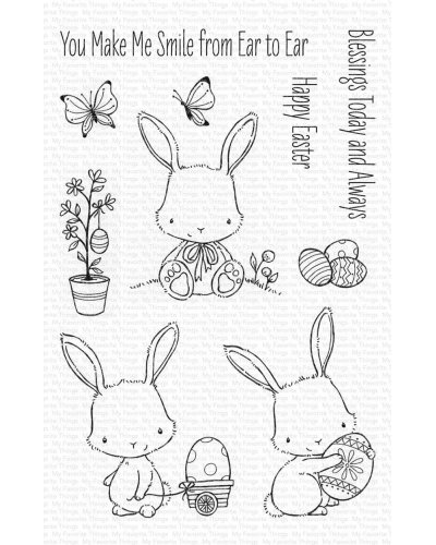 Sello Easter bunnies de MFT
