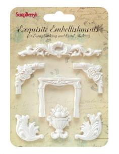 Resina Exquisite Embellishments vegetal