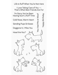 Sello pups & kisses de MFT