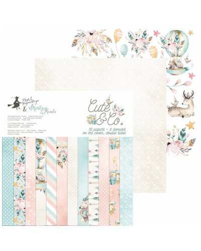 "block cute & co de 12x12"" de p13"