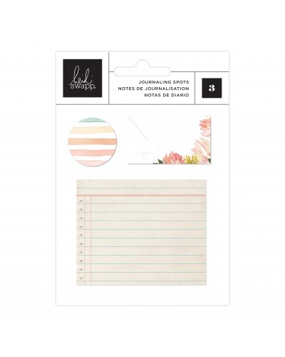Notas de diario post its Heidi Swapp