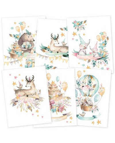 tarjetas a5 cute & cut de p13