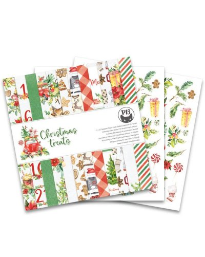 "block CHRISTMAS TREATS 12x12"" de p13"