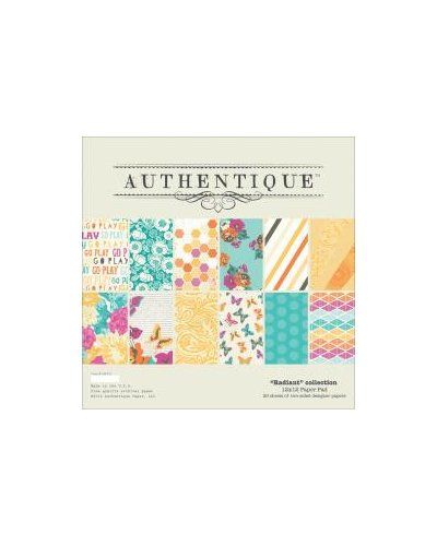 "bolck de 12x12 "" radiant "" de authentique"