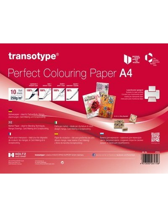 block de papel acuarela a4 transotype