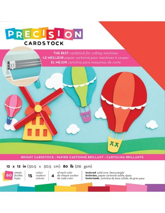 """Cardstock precision bright 12""""X12"""""""