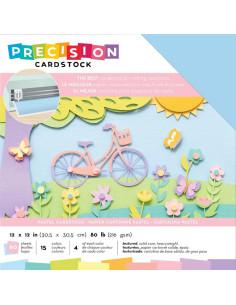 "Cardstock precision pastel 12""X12"""