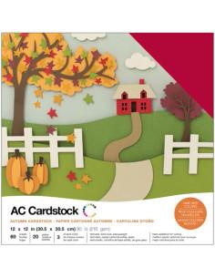 """Cardstock precision autumn 12""""X12"""""""
