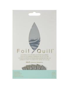 """Hojas de aluminio 4""""x 6"""" de foill quill"""