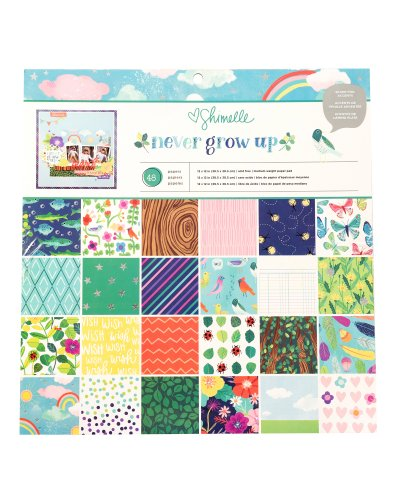Block papel Never grow up de Shimelle