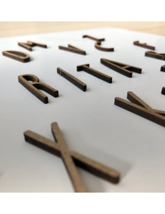 letra de madera v