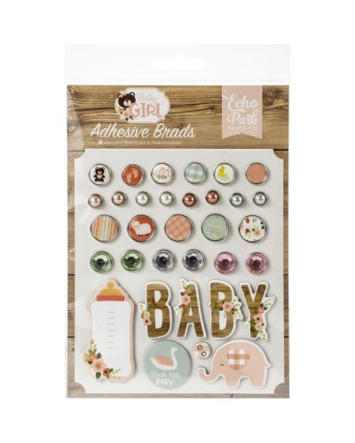 brads decorativos baby girl echo park