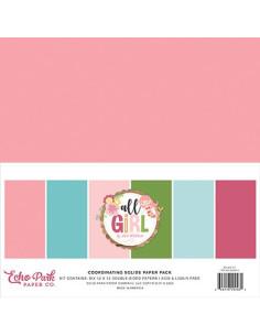 kit de papeles sólidos all girl echo park