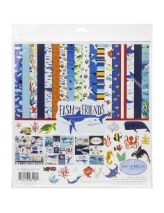 kit fish are friends de carta bella