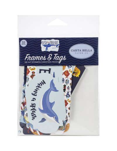 troquelados fish are friends carta bella