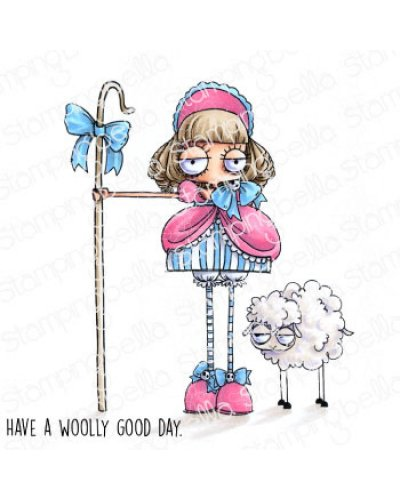 Sello StampingBella have a woolly good day