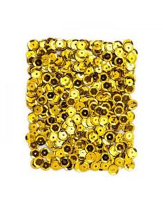 Lentejuelas oro