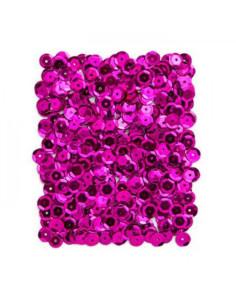 Lentejuelas rosa fucsia