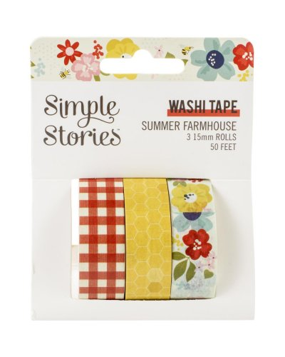 washi tape summer farmhouse de simple stories