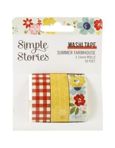 washi tape summer farmhouse de simple stories