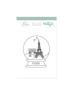 Sello Bola viaje Paris de Mintopia