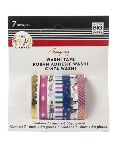 Washi tape colorful happy planner