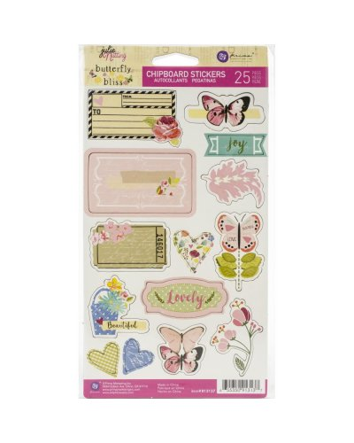 chipboard Butterfly Bliss de prima
