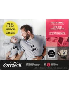 kit de serigrafía con stencil de speedball