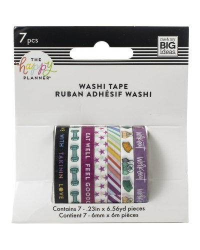Washi tape Skinny happy planner
