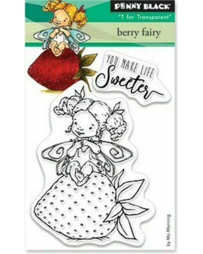 Sello berry fairy de Penny Black