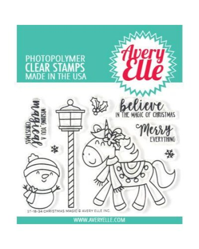 Sello christmas magic de Avery Elle