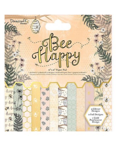 block de 30x30cm bee happy dovercraft