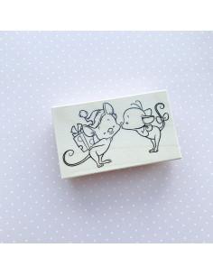 Sello kissme mouse Impronte