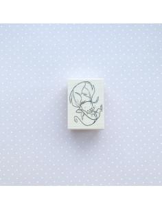 Sello leaf mouse Impronte
