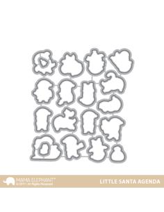 Mama Elephant Little Santa Agenda Dies