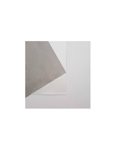 Ecopiel Light Grey/White