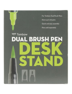 Soporte de escritorio con marcador de doble cepillo Tombow -
