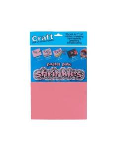 Plástico mágico Shrinkies pastel pink
