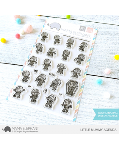 Mama Elephant sello little mummy agenda