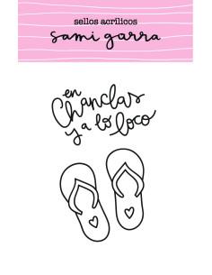 sello en chanclas el mejor verano de sami garra