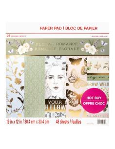 Block floral romance de craftsmart