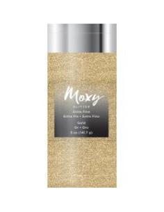 Moxy Extra Fine Glitter 5 oz Oro