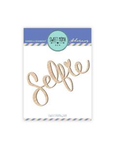 Siluetas de madera - Selfie brisa de sweet moma