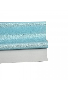 Ecopiel azul Metal