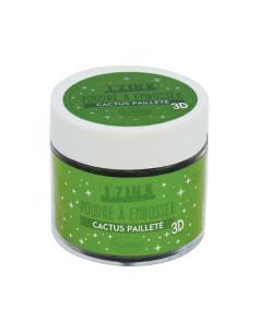 Izink cactus paillete emboss
