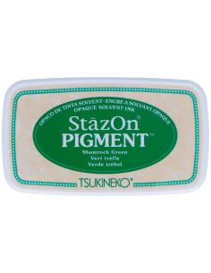 Tinta Stazon PIGMENT plumas de pavo real