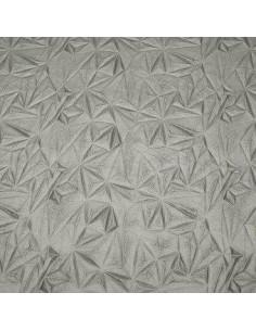 Ecopiel diamante plata