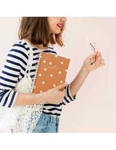 cuaderno a5m canela charuca
