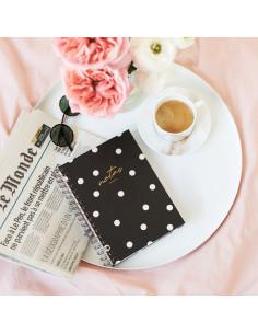 cuaderno a5 negro charuca